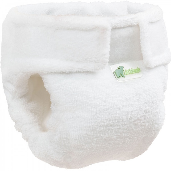 Little Lamb Microfibre Fitted Nappy